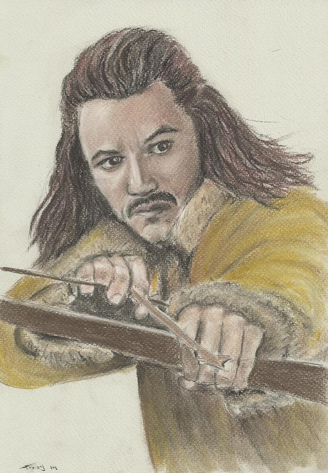 Luke Evans by Powerfulwoodelf